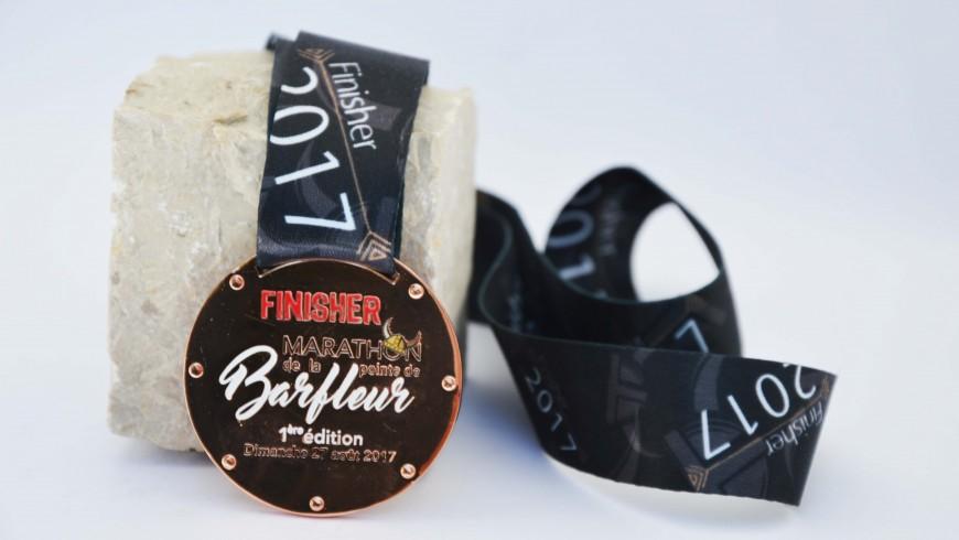 Personalisierte Marathon-Medaillen