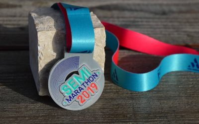 Medalle Halbmarathon von Antony