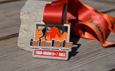 Finisher Medaille für Trails