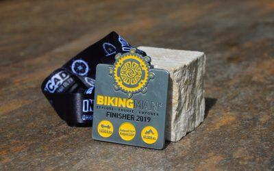 Medaille BikingMan