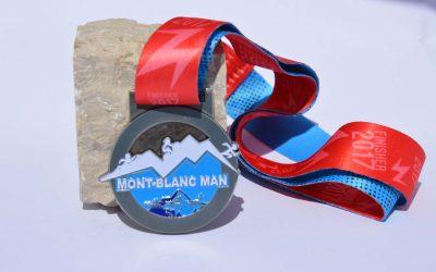 Medaille Triathlon des Mont Blanc